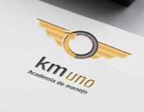 Km Uno - Branding para escuela de manejo