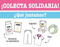 Flyer - Colecta Solidaria