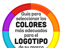 Infografia: Guía selección colores de su logotipo