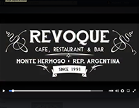 Revoque Café – Edición de video para pantalla HD