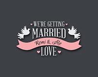 Invitación Web Casamiento