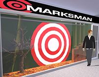 Vitrina para la tienda Marksman