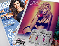 Tour MDNA - Virgin / Bebidas Energizantes