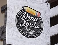 Logotipo para Concurso - Escola Livre Dona Lindu