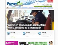 Diseño Web - Powercol Hidrogeno Industrial