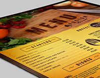 Brazilian Restaurant MENU - FUSION GRILL -