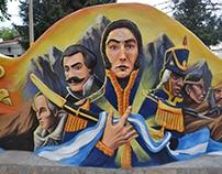 San Martin Mural
