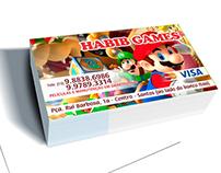 Cartão de Visita - Habib Games