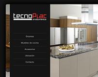 Sitio Web TecnoPlac Amoblamientos