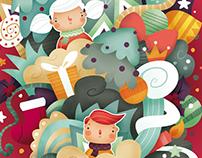 Dulce Navidad. Ilustración