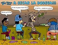 Comics y Caricaturas Revista Caritas Duras