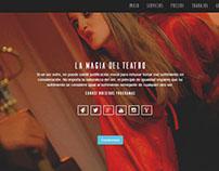 Página web teatro sol de luna