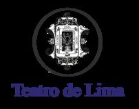 Teatro de Lima - Diseño Gráfico