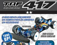 Advertising for TRF 417 - Tamiya Brasil