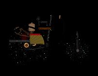 Mercedes Benz Evolution Animation & Illustration