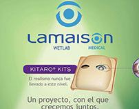 Poster Kitaro Kits for Lamaison Medical