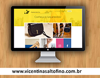 Desenvolvimento de Website - Vicentina Salto Fino