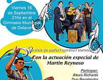 Cartel Peña Folklorica