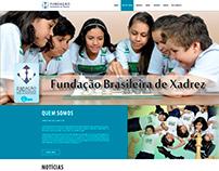 Layout  Fundação Brasileira de Xadrez