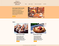 Layout website Padaria Alonso