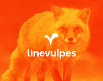 Linevulpes   Logo Design