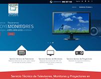Diseño Web Raparar Alicante