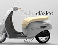 Restyling scooter