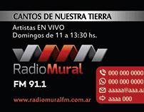 Radio Mural - Tarjeta Personal
