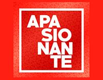 Apasionante tienda virtual - Logo y redes sociales