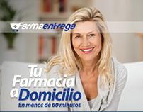 Diseño de página para revista - Farmaentrega (Panamá).