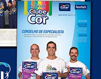 Clube da Cor - Jornal Tintas Coral