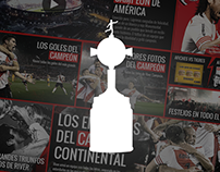 Landing - River Plate Campeón Copa Libertadores