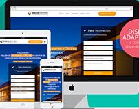 Landing Megacentro.pe | Diseño Web Responsive