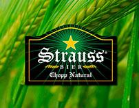 Flyer Strauss Bier Jaraguá do Sul