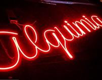Neon flex signboard.