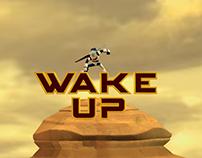 Imagenes de primer proyecto de animacion 3D wake up