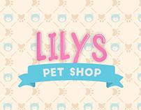 Cartão de Visitas - Lilys Pet Shop