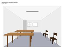 Plano y perspectiva TP_Morfología 6 Diseño Gráfico
