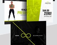 Redes Sociais - Academia Fronto Fitness