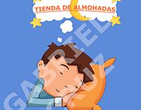 Logo para tienda de almohadas