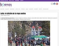 Salta: VI Edición de la Papa Andina