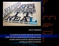 Kinetic Typographic