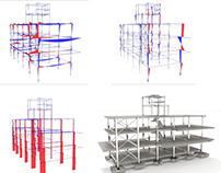 Structural Analysis of a office steel building