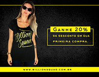 Campanha para facebook - Billion $quad