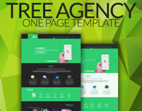 Tree Agency - One Page Template [.PSD]