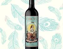 Packaging Design - Wine Label - Circus Juno