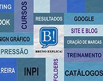 Vinheta abertura para vídeos (Cliente Bruno Explica!)