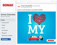 Diseño de Post para Fanpage Bosch y Sonax