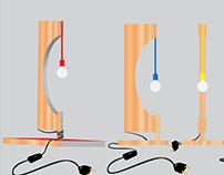 Projeto Luminária - desenho tecnico