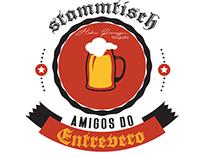Arte para Stammtisch - Amigos do Entrevero.